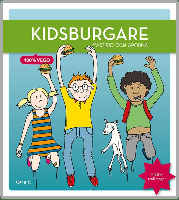 Kidsburgare – Mättar små magar
