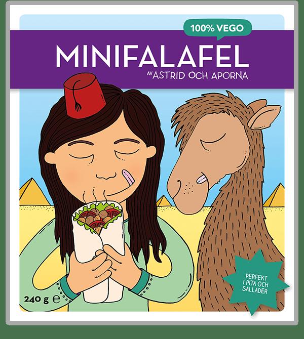 Minifalafel –Perfekt i pita och sallader